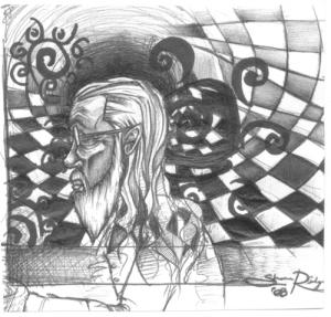 Socrates X Side-Portrait